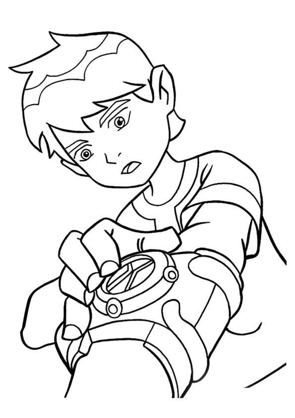 The Ben Ready coloring pages