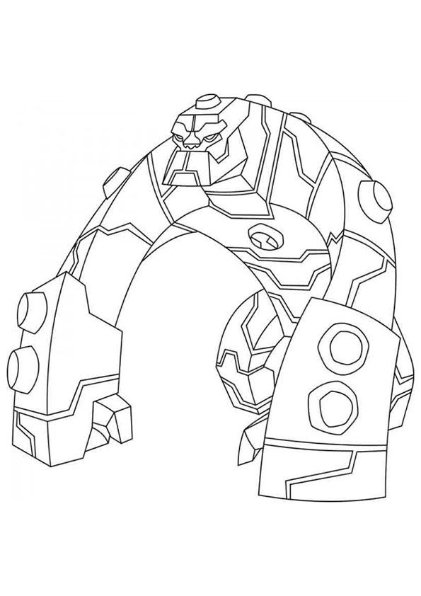 The Bloxx coloring pages