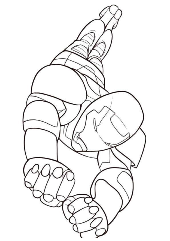 Parentune Free Printable Ironman Coloring Pages Ironman Coloring Pictures For Preschoolers Kids