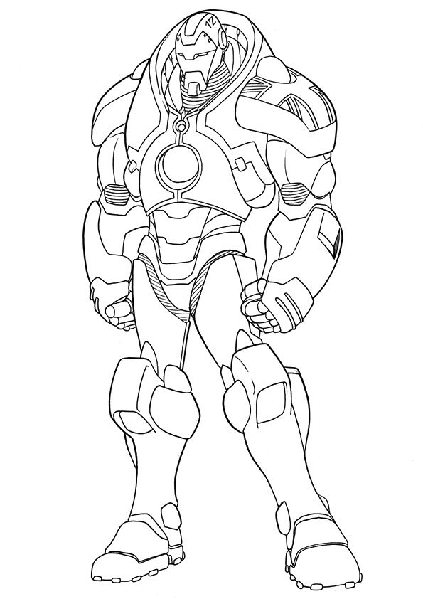 Free Printable Ironman Coloring Pages, Ironman Coloring ...