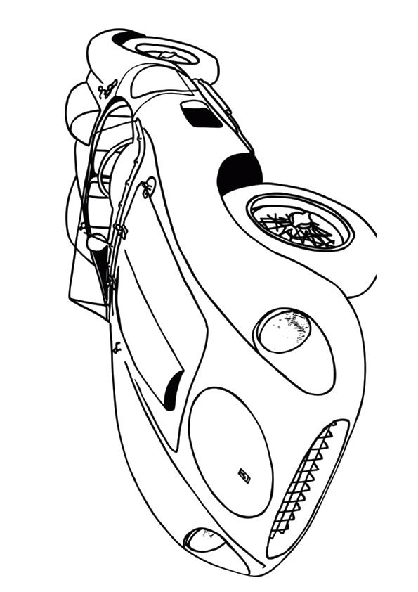 Saleen Iron Man coloring pages