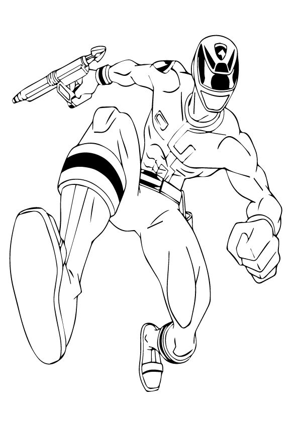 Powerrangers-megaforce coloring pages