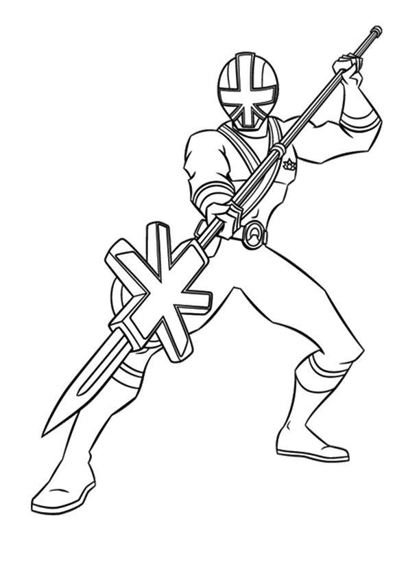 Power Rangers Samurai 3 coloring pages