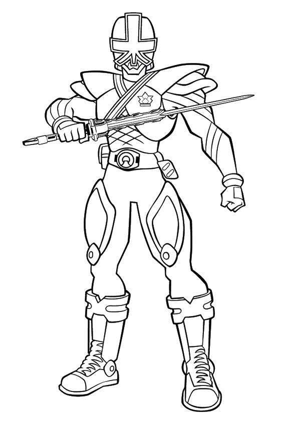 Green Ranger coloring pages