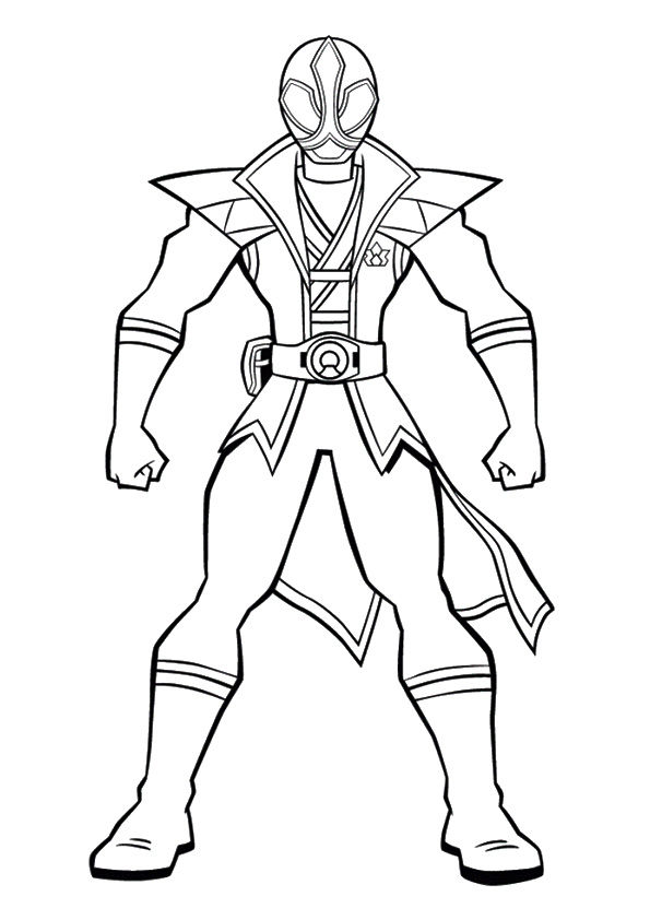 Silver Ranger coloring pages