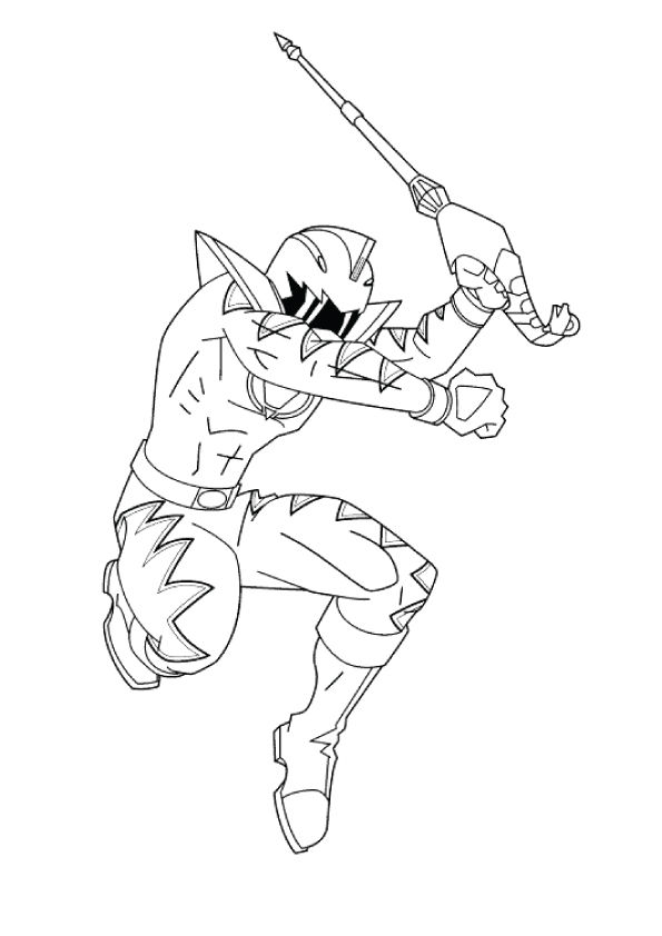 Power Rangers Wild Force coloring pages