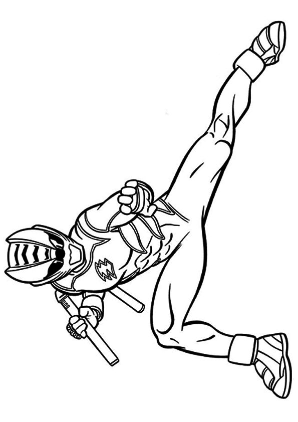 Side Pose Power Ranger