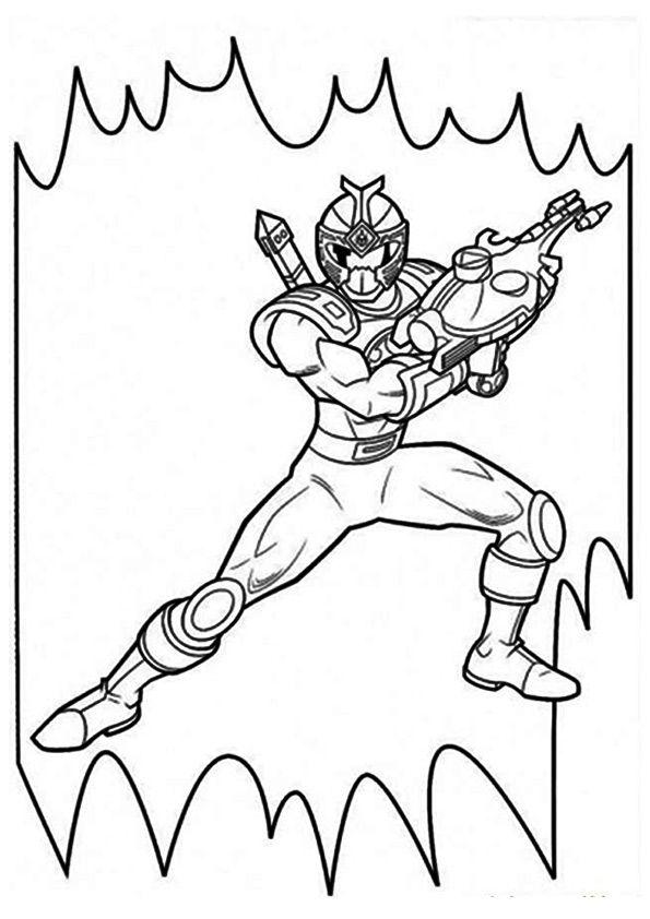 Power Ranger Pattern
