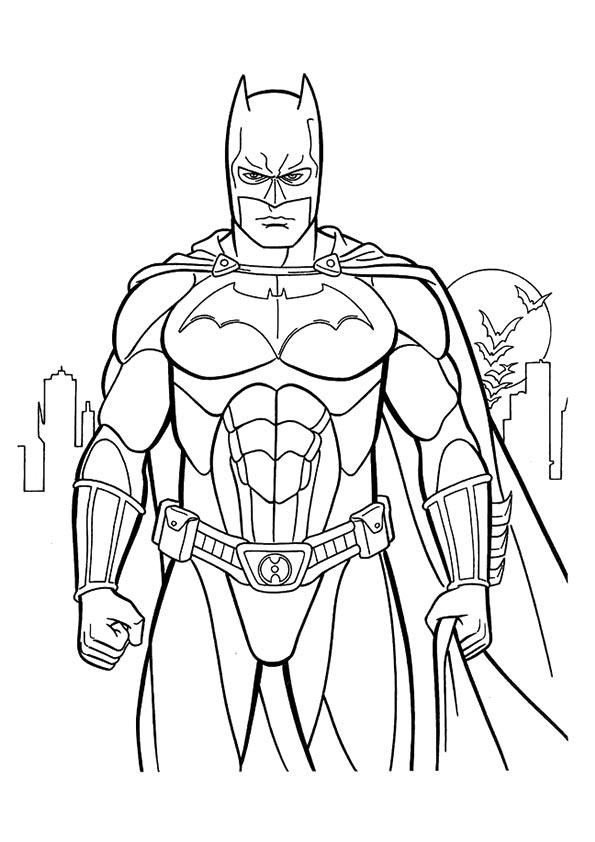 Random-superhereos coloring pages