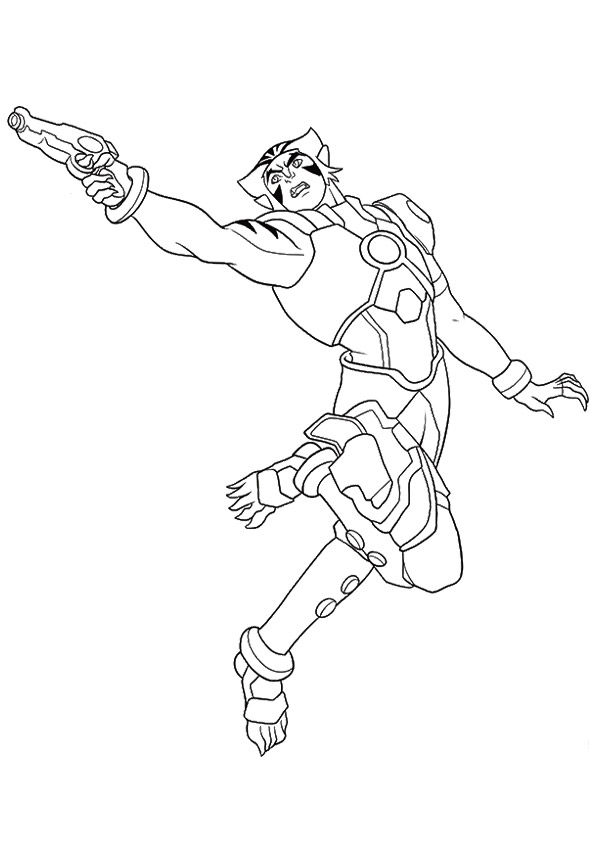 Nova coloring pages