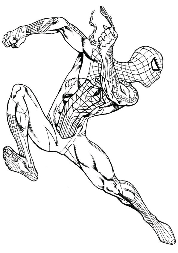 Free Printable Spiderman Coloring Pages, Spiderman ...
