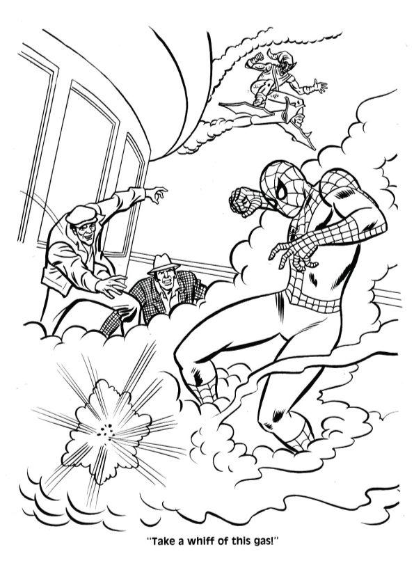 Unmasked Spiderman