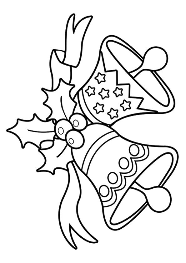 Christmas Jingle Bells coloring pages