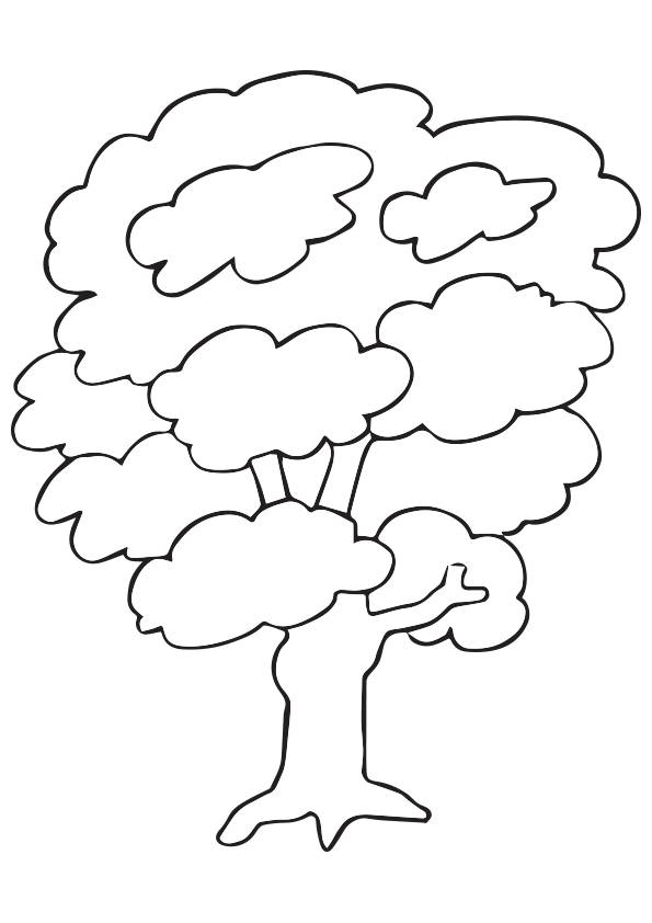 Kapok Tree coloring pages